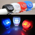 Cycling Bike Safety Bicycle Silicone 2LED Frog Lamp Warning Front or Rear Lights