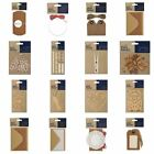 CLEARANCE! Papermania 'Bare Basics' Paper Card Craft Eco Kraft Brown Collection