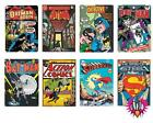 OFFICIAL DC COMICS SUPERMAN BATMAN COMIC COVERS TIN METAL WALL SIGN PLAQUE