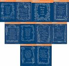 Clarity Stamps Groovi Parchment Embossing Plate A5 Poetry, Prayers & Verses