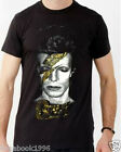 David Bowie Aladdin Sane Album Cover Men's T-shirt   (New)    (BOW1)