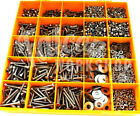 3500 ASSORTED M4 A4 STAINLESS SOCKET BUTTON CSK CAP SCREW NUT WASHER METRIC KIT