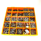 3500 ASSORTED M5 A4 STAINLESS SOCKET BUTTON CSK CAP SCREW NUT WASHER METRIC KIT