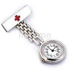 High Quality Stainless Steel Nurse Watch Brooch Tunic Fob Watch Quartz US
