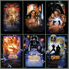 STAR WARS EPISODE I-VI First Six Movie POSTERS Combo Set $39.99 USD
