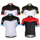 New Summer Sports Men Cycling Jerseys Short Sleeve Clothing Shirts Jackets S-3XL