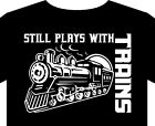 T Shirt up to 5XL model train hobby Hornby Triang track coach locomotive gift