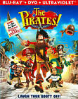 The Pirates! Band of Misfits (Blu ray/DVD, 2012, 2-Disc set) NEW!