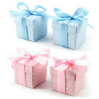 50PCS Luxury Wedding Party Spots Dots Sweets Cake Candy Gift Favour Favor Boxes