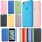Original Case Genuine Silicone Cover Case For Apple iPhone SE 6S Plus & 6 Plus