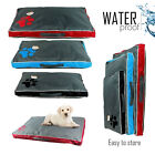 DOUBLE SIDED DOG PET WATER RESISTANT BED MAT CUSHION MATTRESS WASHABLE PILLOW