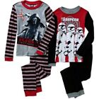 Star Wars 4 PC Long Sleeve Tight Fit Cotton Pajama Set Boy Size 6 $37.59 CAD