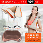 Electric Shiatsu Kneading Neck Shoulder Body Back Massager W/Heat Health Care