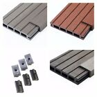 29 Square Metres of Wooden Composite Decking Inc Boards, Edging & Fixing Packs