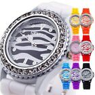 FASHION Zebra GENEVA Jelly Dial New Women's Sport Quartz Wrist Watch Odm Analog