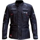 Merlin Peake Outlast Jacket Black Textile Motorcycle Jacket RRP £149.99!!