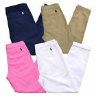Polo Ralph Lauren Chinos Womens Pants Casual Khakis Pony Logo Nwt 4 6 8 10 12 14
