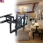 DUAL ARM SWIVEL LCD LED FULL MOTION TV WALL MOUNT BRACKET 32 40 42 46 50 55 56