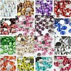 100 5mm Resin Rhinestone Crystal Art Scrapbook Craft Bead Wedding Decoden #2