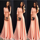 Women Formal Long Ball Gown Party Prom Cocktail  Bridesmaid Evening Dresses