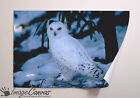 SNOWY OWL GIANT WALL ART POSTER A0 A1 A2 A3