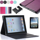 Ultra Thin Flip Stand PU Leather Case Cover Skin for Apple iPad mini 3 2 1 4 Air