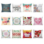 Happy Mother's Day Sofa Bed Home Decor Festival Love Pillow Case Cushion Cover