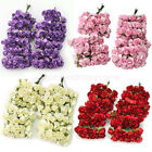 144 Mini Petite Paper Artificial Rose Buds Flowers Bouquet Home Party Decor New