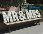 MR & MRS Plug-In Rustic Metal Wedding Love Letters Sign Marquee Married Light