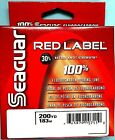 Seaguar Red Label Fluorocarbon 200 yards