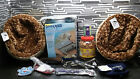 2 Pet Beds - Littermaid Waste Receptacles - Leashes - Collars & Clothes -A