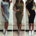 Fashion Women Bodycon Cocktail Mini Pencil Dress Ladies Evening Party Formal New