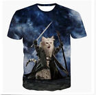 Fashion Womens/Mens The Lord of the Rings Cats 3D Print Casual T-Shirt CS68