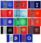 Official Football Club - Fan FLAG 152cm x 91cm (Since) Hang Up/Body (Gift/Xmas)