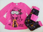 IMAGE Girls size LARGE 7/8 L/S 5/6 I WOKE UP FABULOUS PJ PAJAMA SET NWT