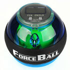 LED Powerball Sports Fitness Gyro Exerciser Wrist Arm Muscle w/ Docking Station