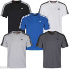 adidas SHORT SLEEVE MULTI COLOUR SIZE S M L XL CLIMALITE CREW NECK TEE T-SHIRT