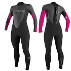 2017 O'Neill Reactor Full Wetsuit  3 X 2 Ladies, Black Graphite Berry