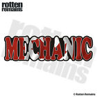 Mechanic Decal Canada Canadian Flag Auto Motorcycle Vinyl Sticker TCS