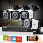 4CH 1080N CCTV DVR 1500TVL Outdoor Night Vision Home Security Camera System Kit