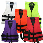 Hardcore NEON High Visibility Child Life Jacket PFD Type III Ski Vest