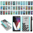 For LG V20 VS995 H990 LS997 H918 US996 Hybrid Bumper Shockproof Case Cover + Pen