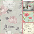 Arthouse Renoir Wallpaper - Large Chintz Flowery - Shabby Chic Floral Wall