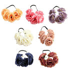 Girl's Hair Band Headband Headdress Headwear with Blooming Flower Ornament New