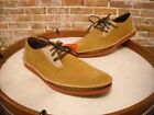 Deer Stags Prime Tan Suede Lace Up Delaware Oxford Men's NEW