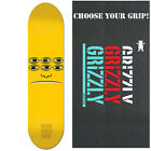"""TOY MACHINE Skateboard Deck TRANSMISSIONATOR FACE 8.125"""" with GRIZZLY GRIPTAPE"""