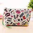 Womens Cosmetic Bags Makeup Case Dumpling Large Clutch Packages Waterproof B20E
