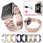 Newest Stainless Steel Watch Band Wrist Bracelet Clasp For iWatch 38mm/42mm