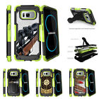 For Samsung Galaxy S8 G950 (2017) Clip Stand Green Case Sniper