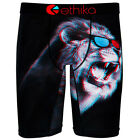 ETHIKA The Staple King of 3D Underwear Boxer Brief Red Blue S-2XL NEW